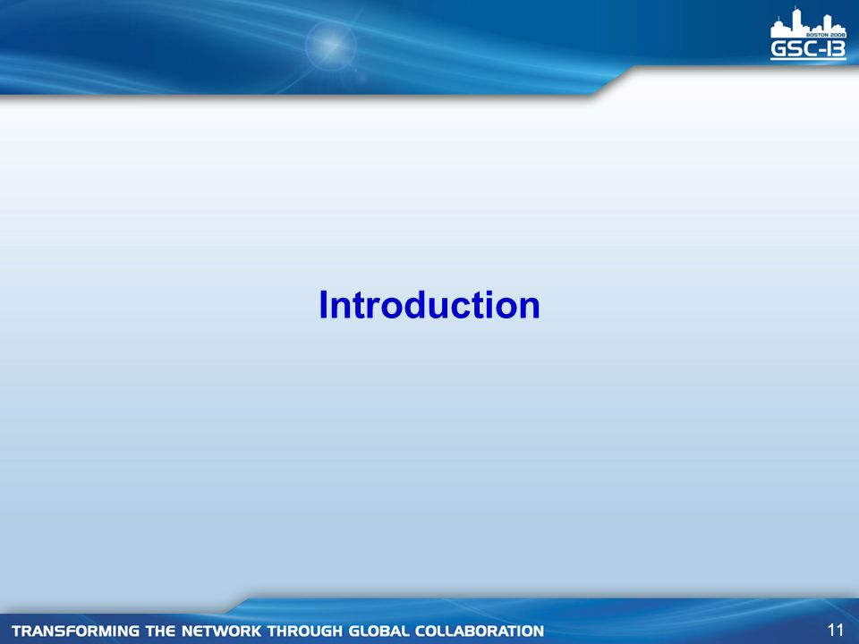 11 Introduction