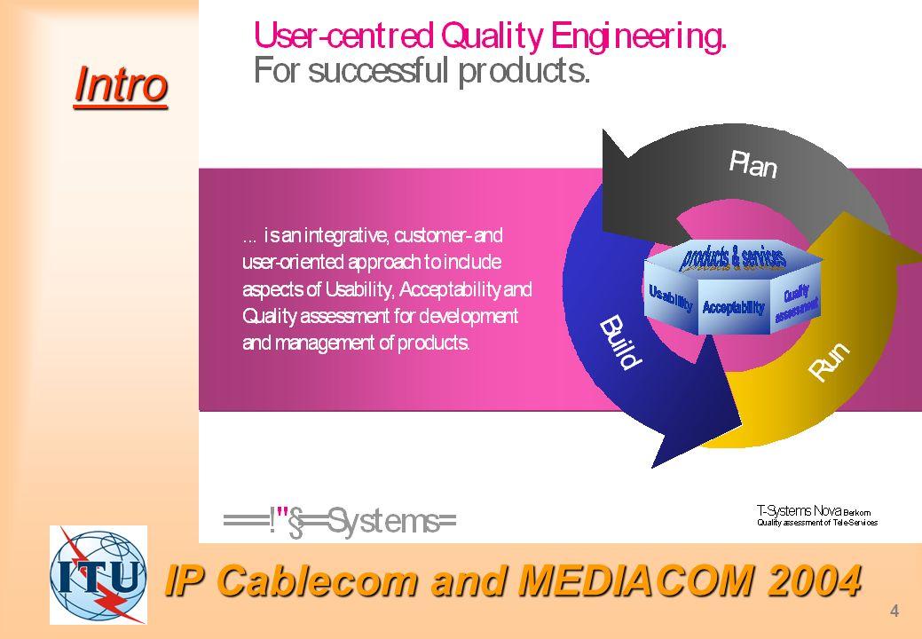 IP Cablecom and MEDIACOM 2004 4 Intro