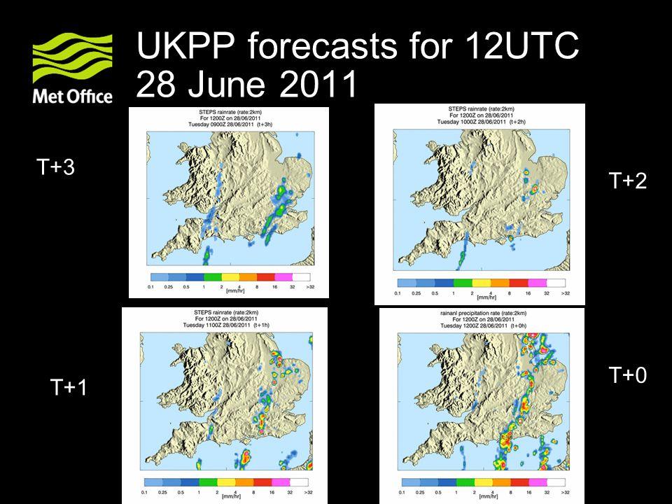 UKPP forecasts for 12UTC 28 June 2011 T+0 T+1 T+2 T+3