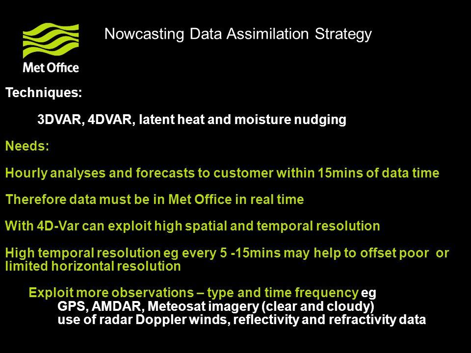 © Crown copyright Met Office UKPP – Met Office Nowcast – forecasts of surface rain rate valid at 21Z 3/6/2007 radar T+3 T+2 T+1 T+0
