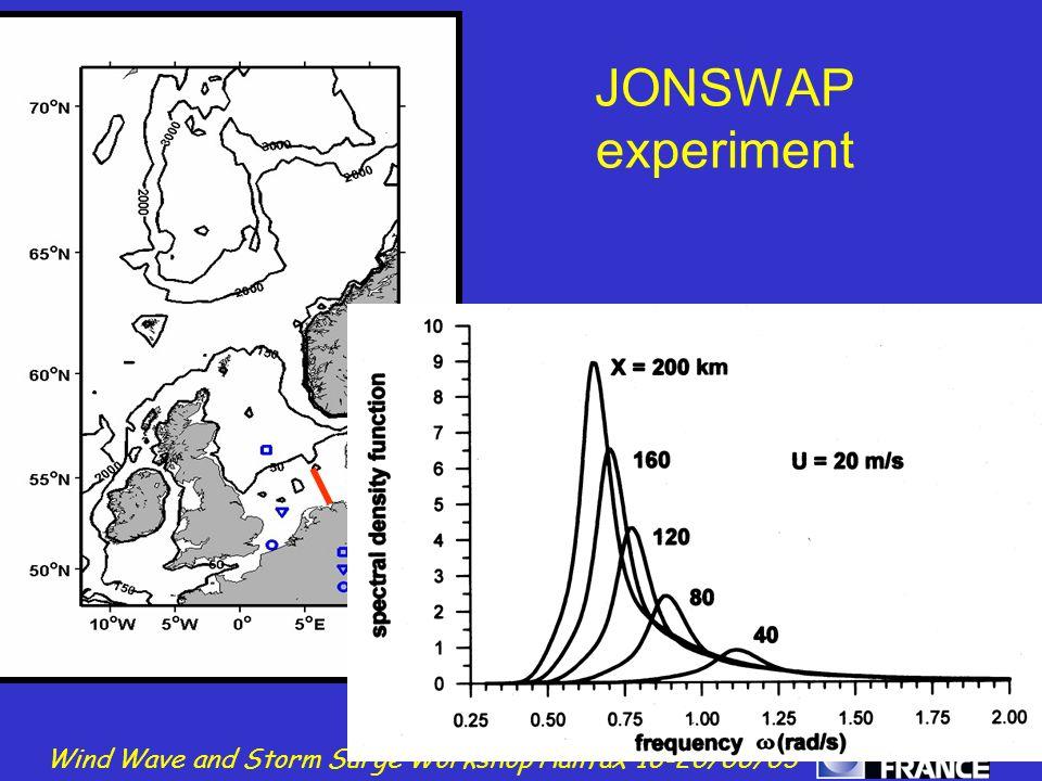 JONSWAP experiment