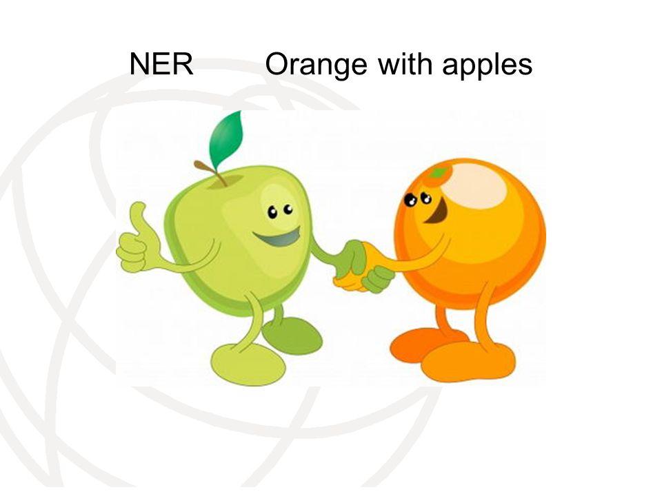 NER Orange with apples