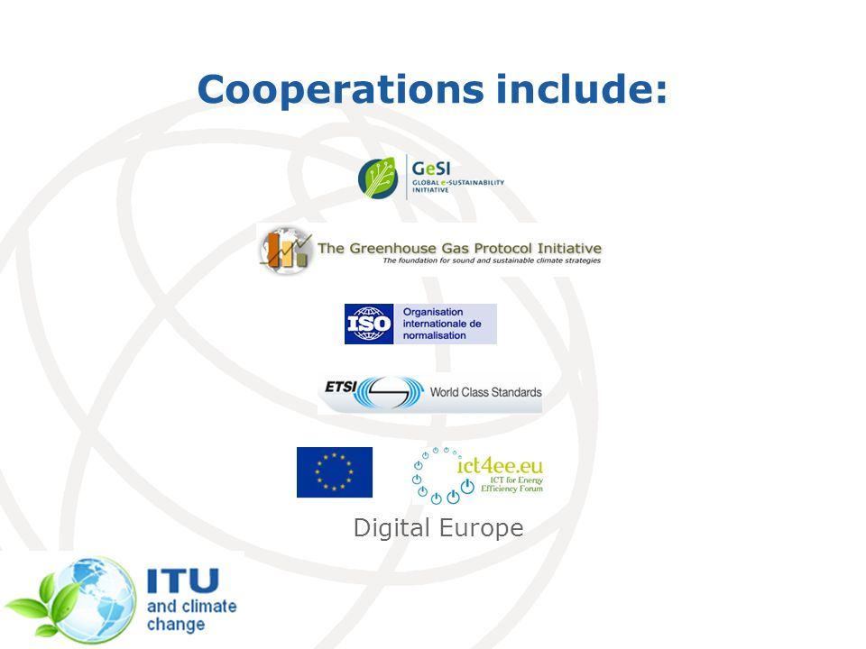 Cooperations include: Digital Europe