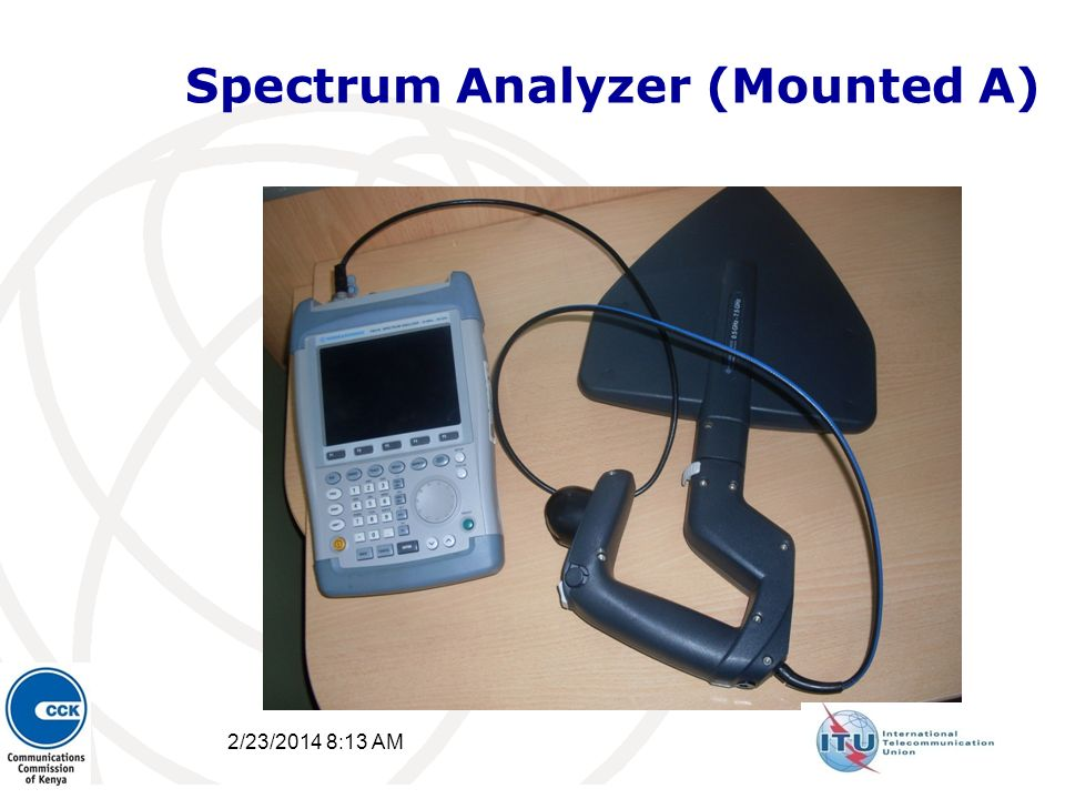 Spectrum Analyzer (Mounted A) 2/23/2014 8:15 AM 38