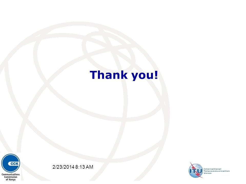 2/23/2014 8:15 AM 40 Thank you!