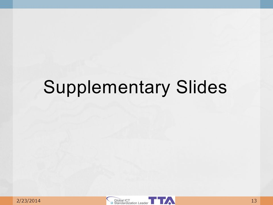 Supplementary Slides 2/23/201413