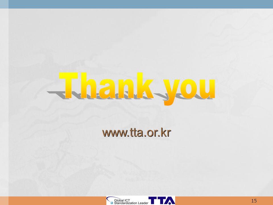 www.tta.or.kr 15