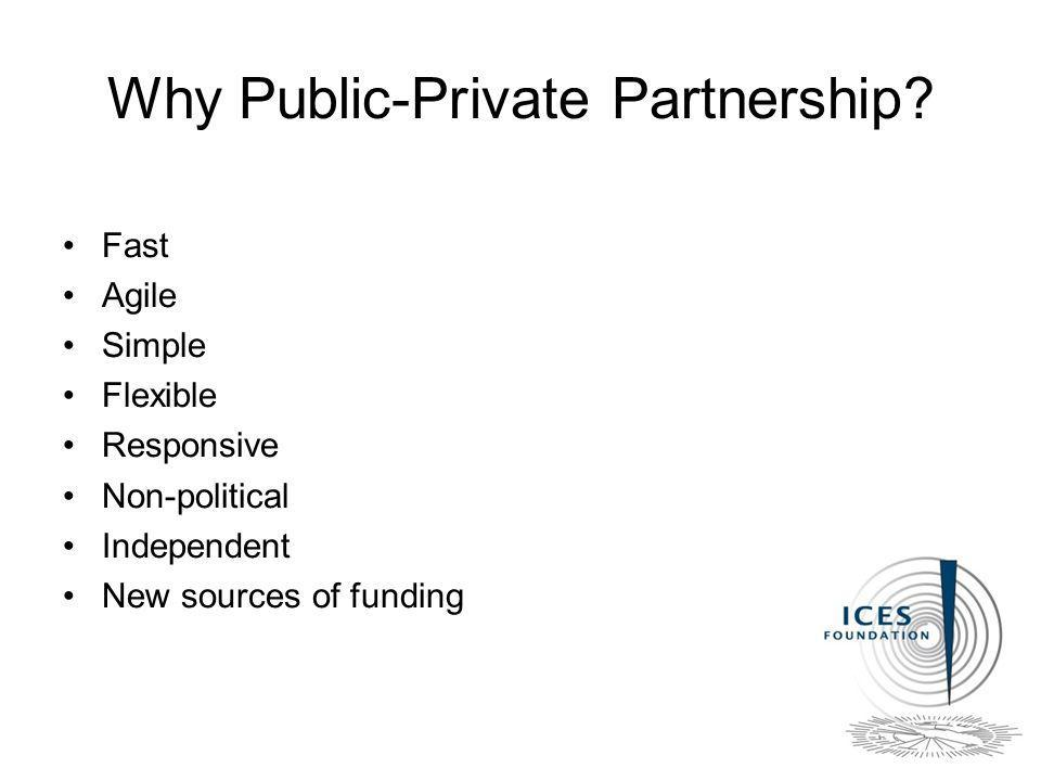 Why Public-Private Partnership.