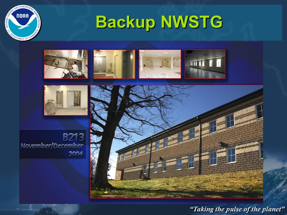 Taking the pulse of the planet Backup NWSTG