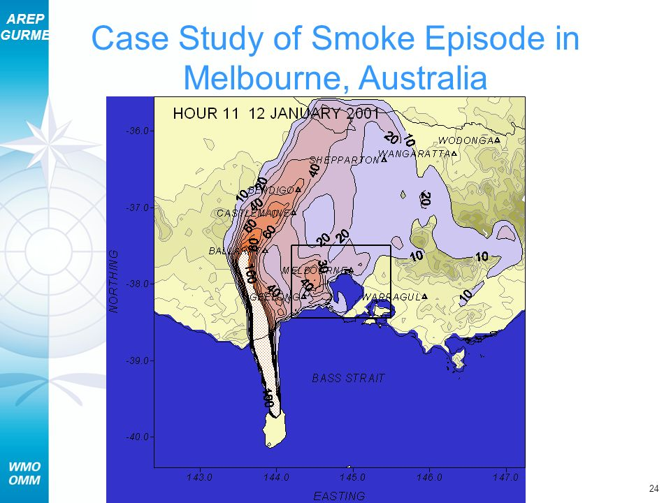 AREP GURME 24 Section 11 – Case Study of Episodes Case Study of Smoke Episode in Melbourne, Australia