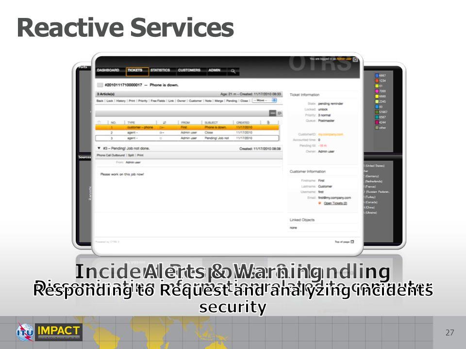 27 Reactive Services