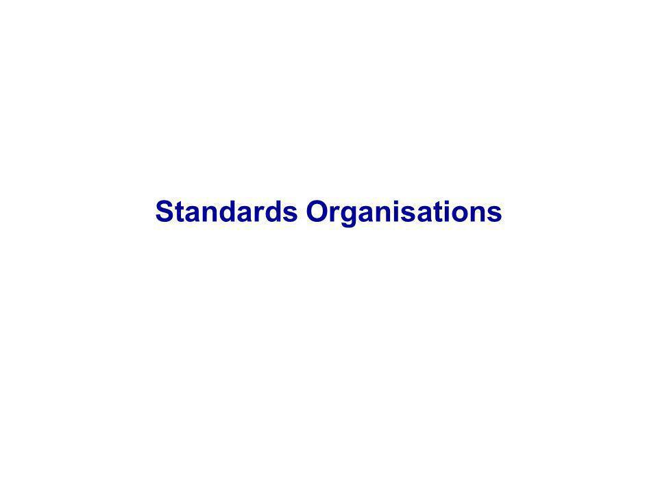 Standards Organisations