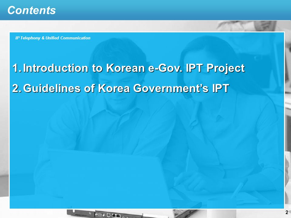 Introduction Standards of IPT for Gov.