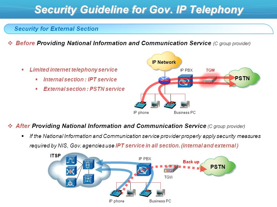 Security Guideline for Gov.