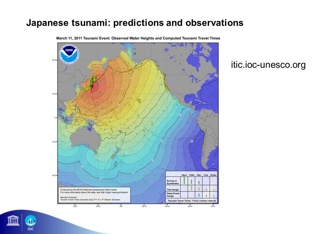 Japanese tsunami: predictions and observations itic.ioc-unesco.org