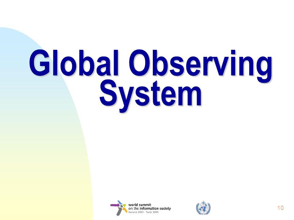10 Global Observing System