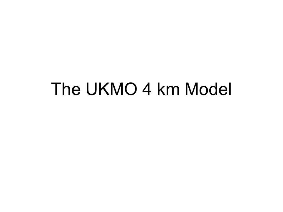 The UKMO 4 km Model