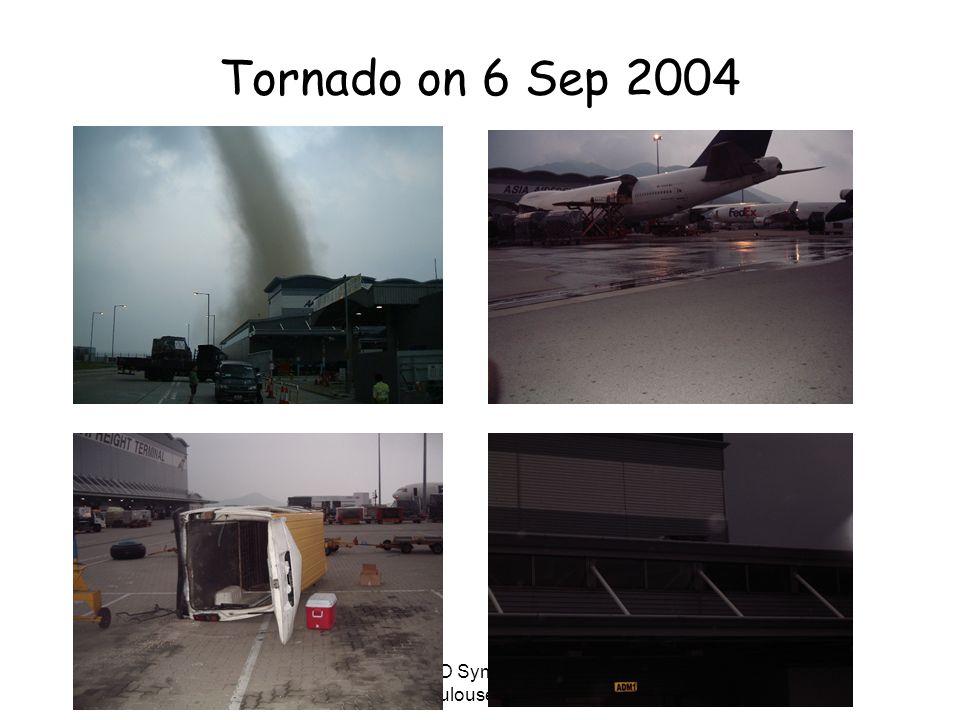 WMO Symposium Toulouse 2005 Tornado on 6 Sep 2004
