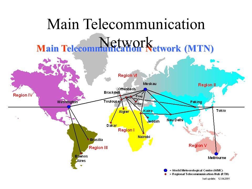 Main Telecommunication Network (MTN) Main Telecommunication Network