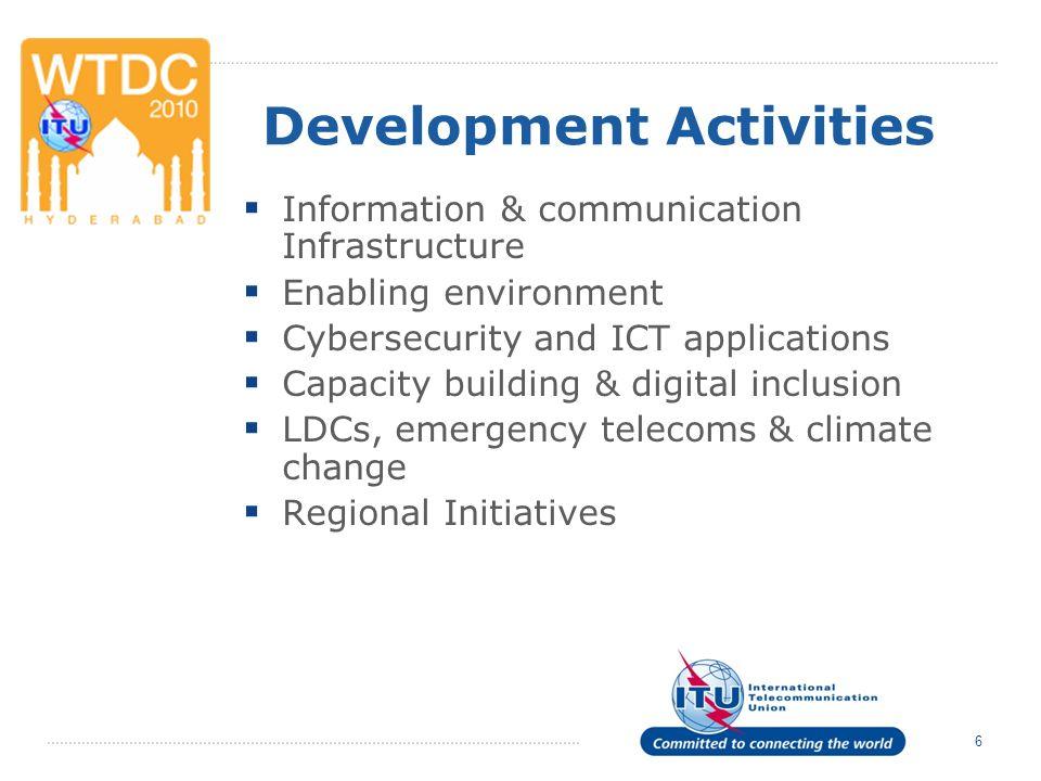 ITU-D Sector Members Portal Showcases information on ITU–D Sector Members.