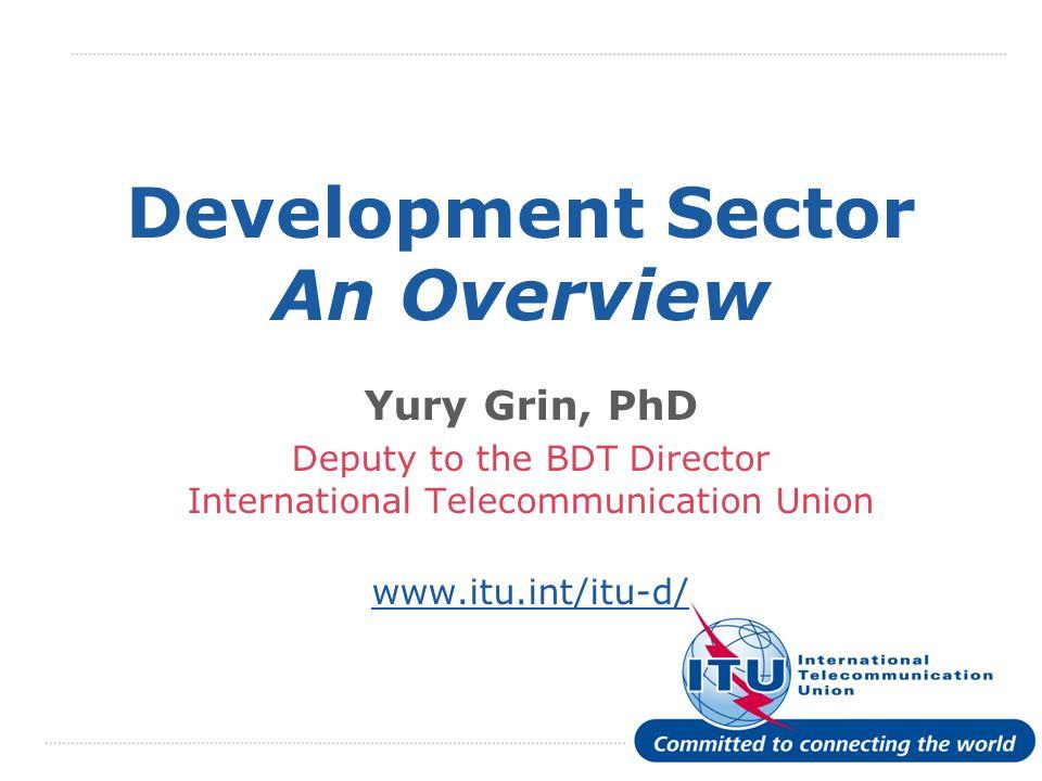 International Telecommunication Union Thank You.