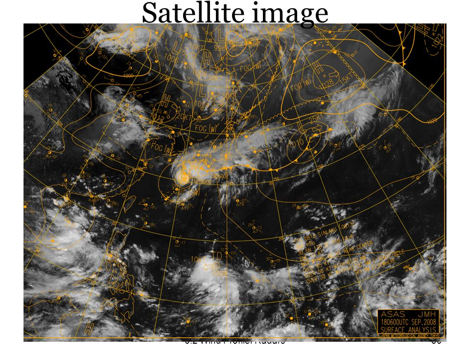 6.2 Wind Profiler Radars39 Satellite image
