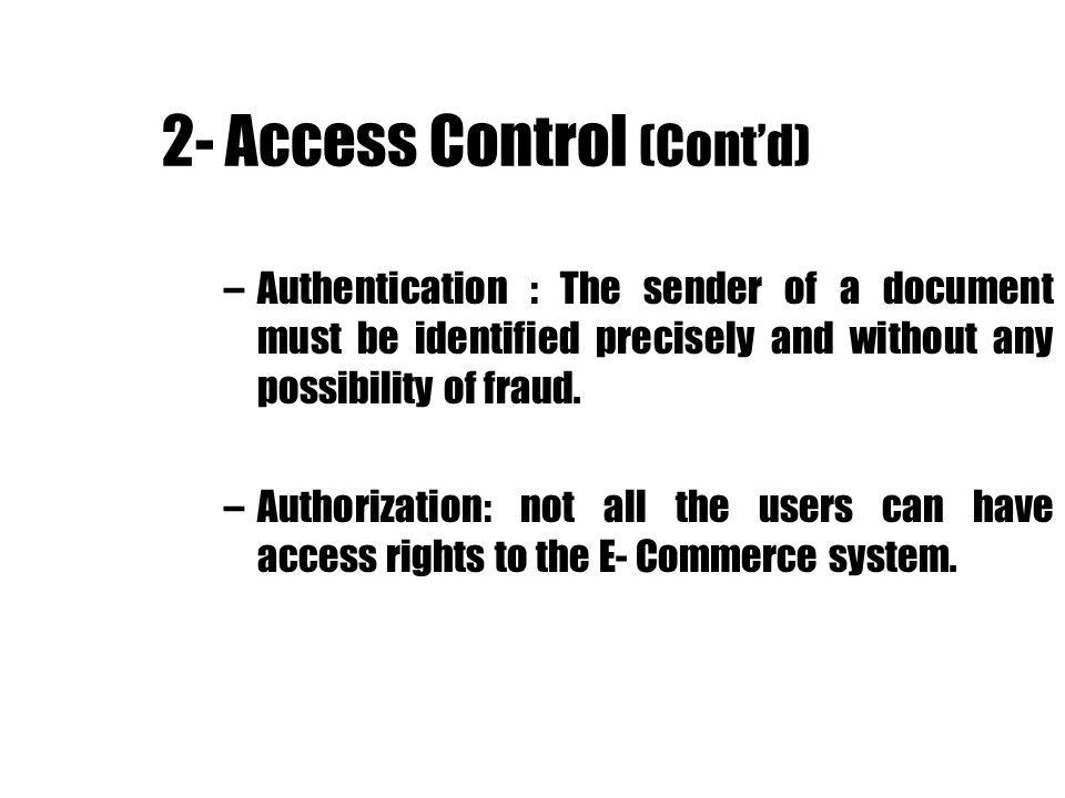 References: 1) Me Garr, M.S., Tuning in Biometrics to Reduce E-Commerce Risk, EC-World magazine, Feb.2000.