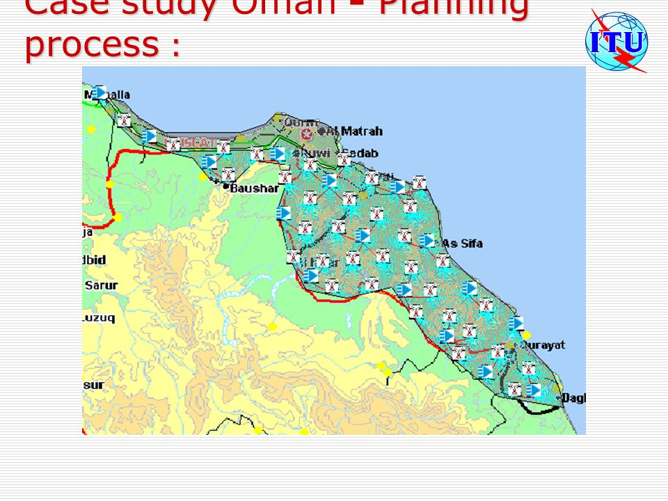 Case study Planning process : Case study Oman - Planning process :