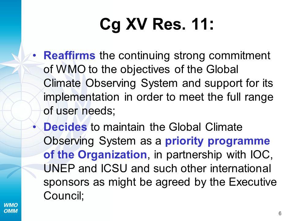 6 Cg XV Res.