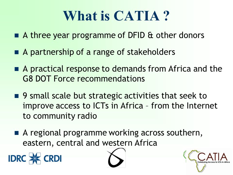 What is CATIA .