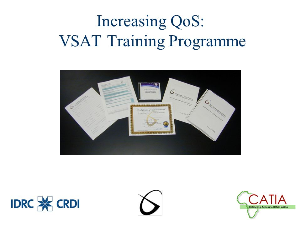 Increasing QoS: VSAT Training Programme