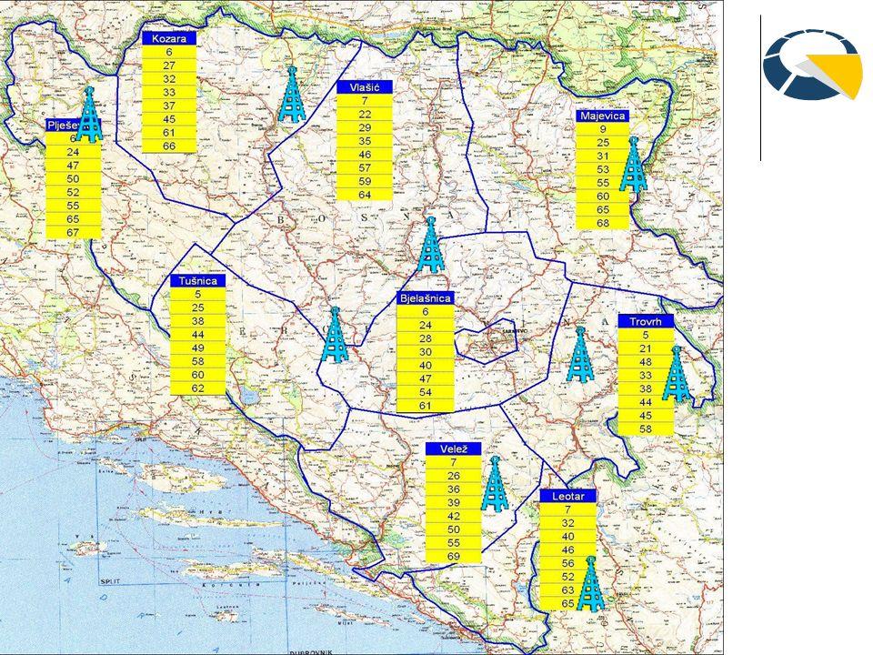 3. Digitalni plan frekvencija u Bosni i Hercegovini