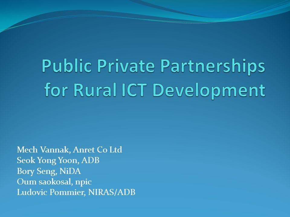 Mech Vannak, Anret Co Ltd Seok Yong Yoon, ADB Bory Seng, NiDA Oum saokosal, npic Ludovic Pommier, NIRAS/ADB