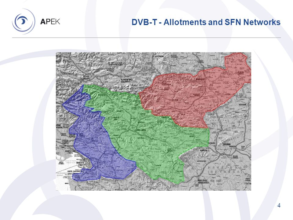 DVB-T - Allotments and SFN Networks 4
