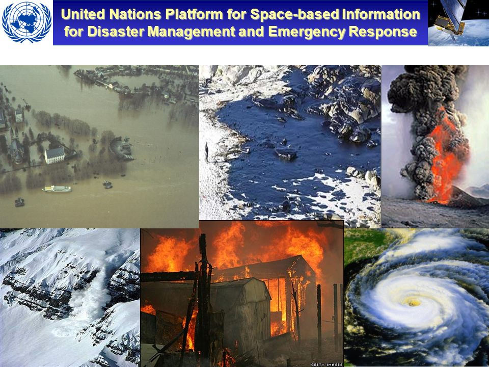 United Nations Platform for Space-based Information for Disaster Management and Emergency Response Workshop on the Role of Remote Sensing in Disaster Management – Geneva, Switzerland – Dec 2007