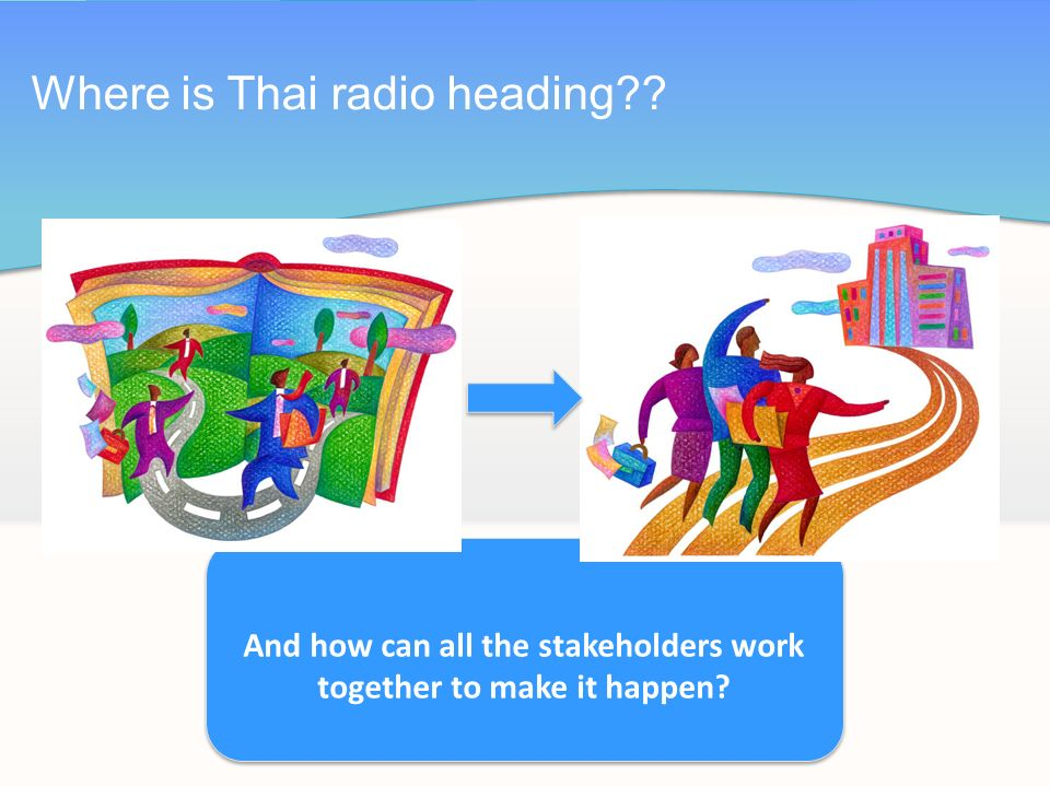Where is Thai radio heading And how can all the stakeholders work together to make it happen