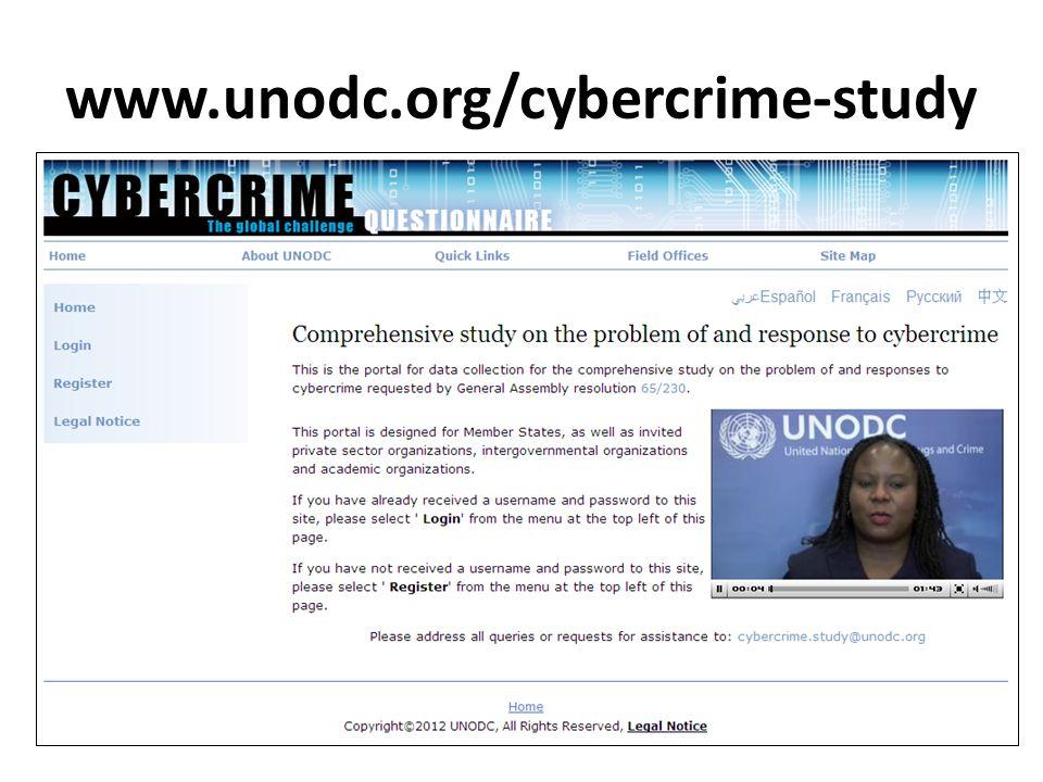 www.unodc.org/cybercrime-study