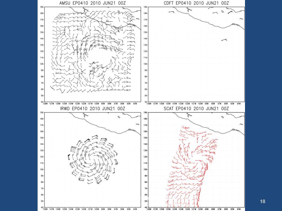 18 WMO International Workshop on Satellite Analysis of Tropical Cyclones