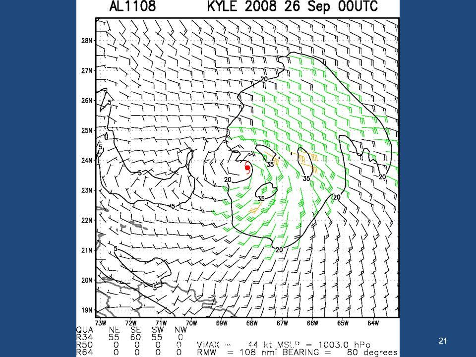 21 WMO International Workshop on Satellite Analysis of Tropical Cyclones