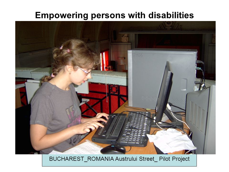Empowering persons with disabilities BUCHAREST_ROMANIA Austrului Street_ Pilot Project
