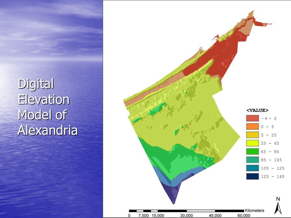 Digital Elevation Model of Alexandria