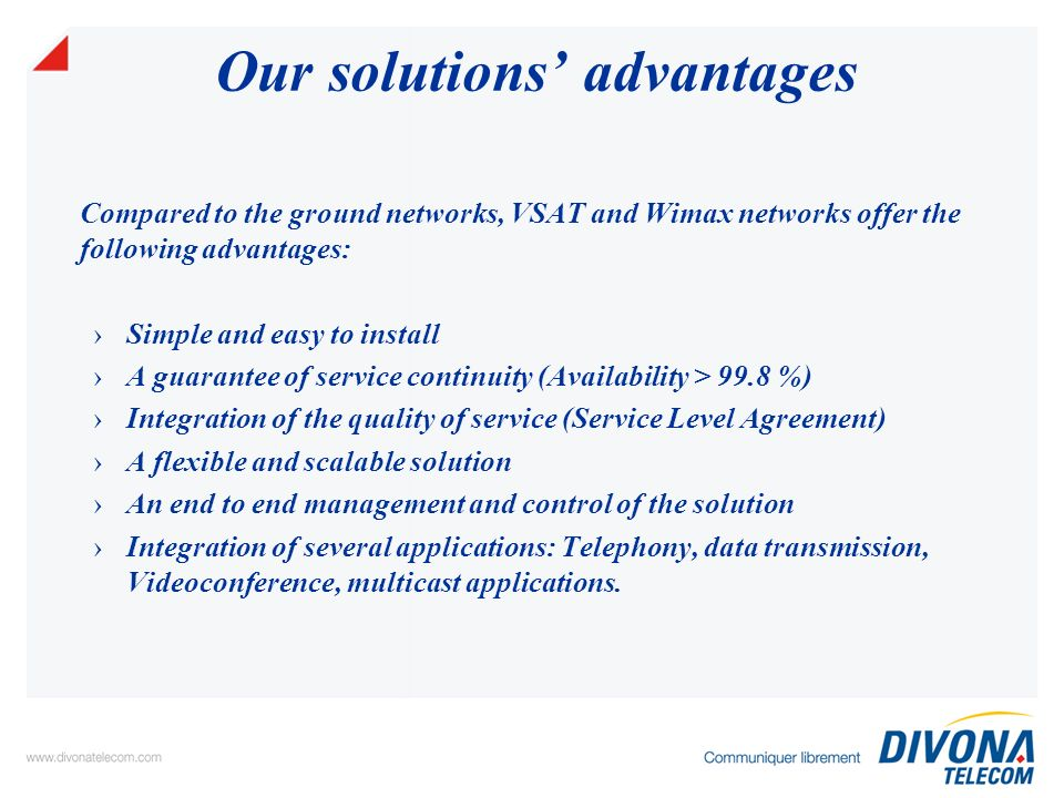 Divona Telecoms References