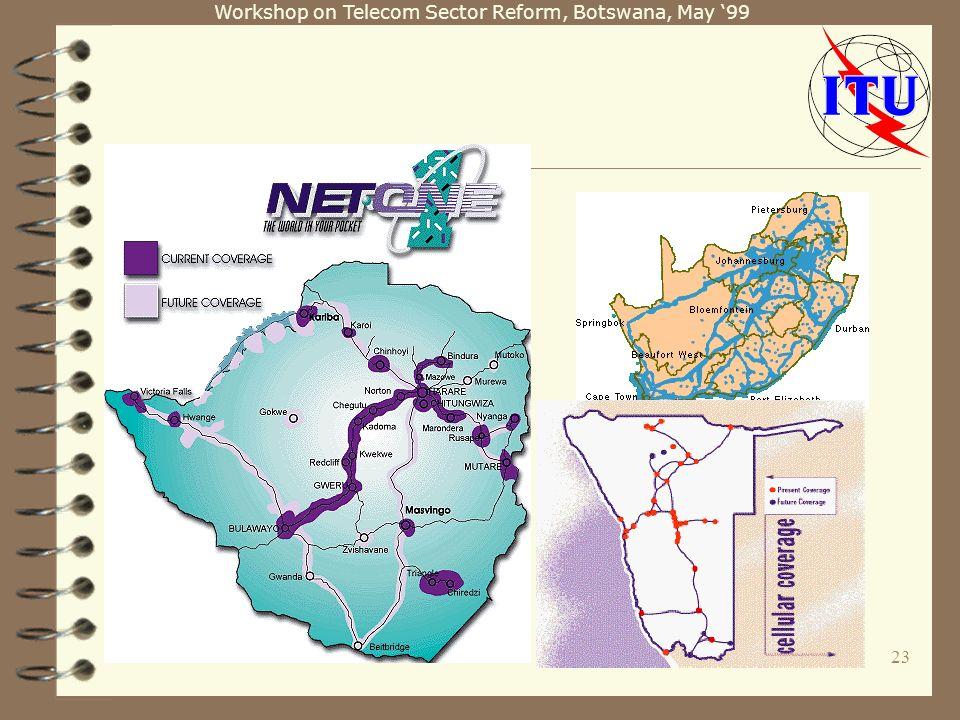 Workshop on Telecom Sector Reform, Botswana, May 99 23