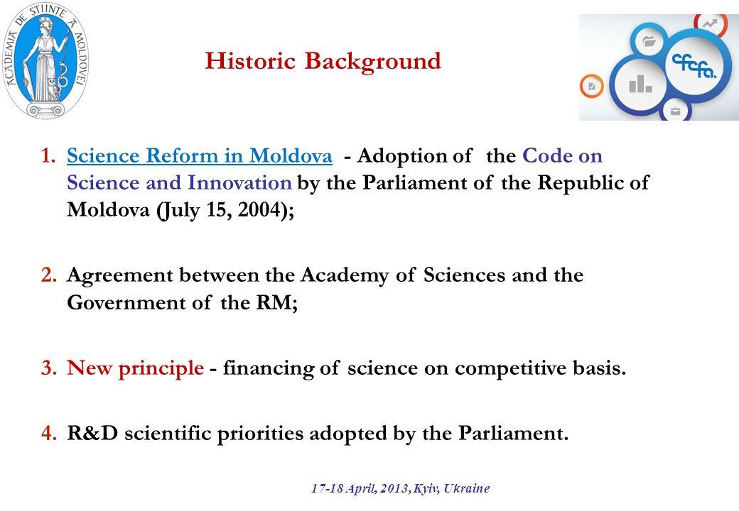 The association of RM to FP7 17-18 April, 2013, Kyiv, Ukraine