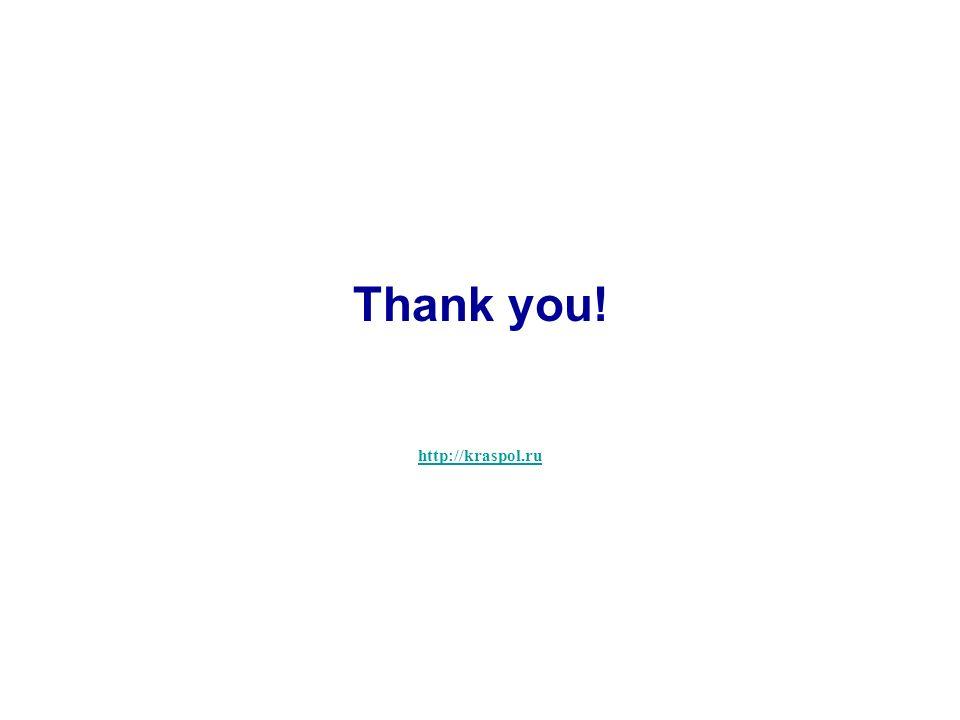 http://kraspol.ru Thank you!