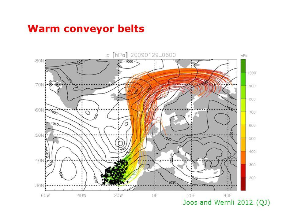 Warm conveyor belts Joos and Wernli 2012 (QJ)