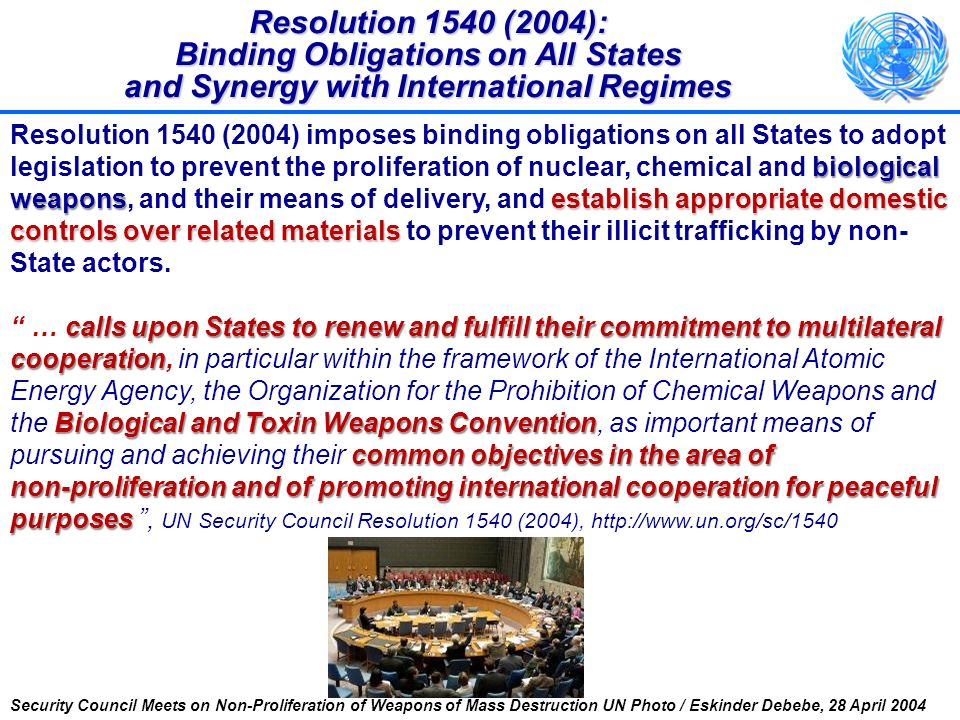 National legislation on prohibitions (OP.1 & 2) Domestic controls and enforcement (OP.