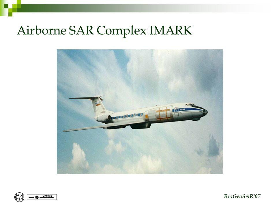 BioGeoSAR07 Airborne SAR Complex IMARK