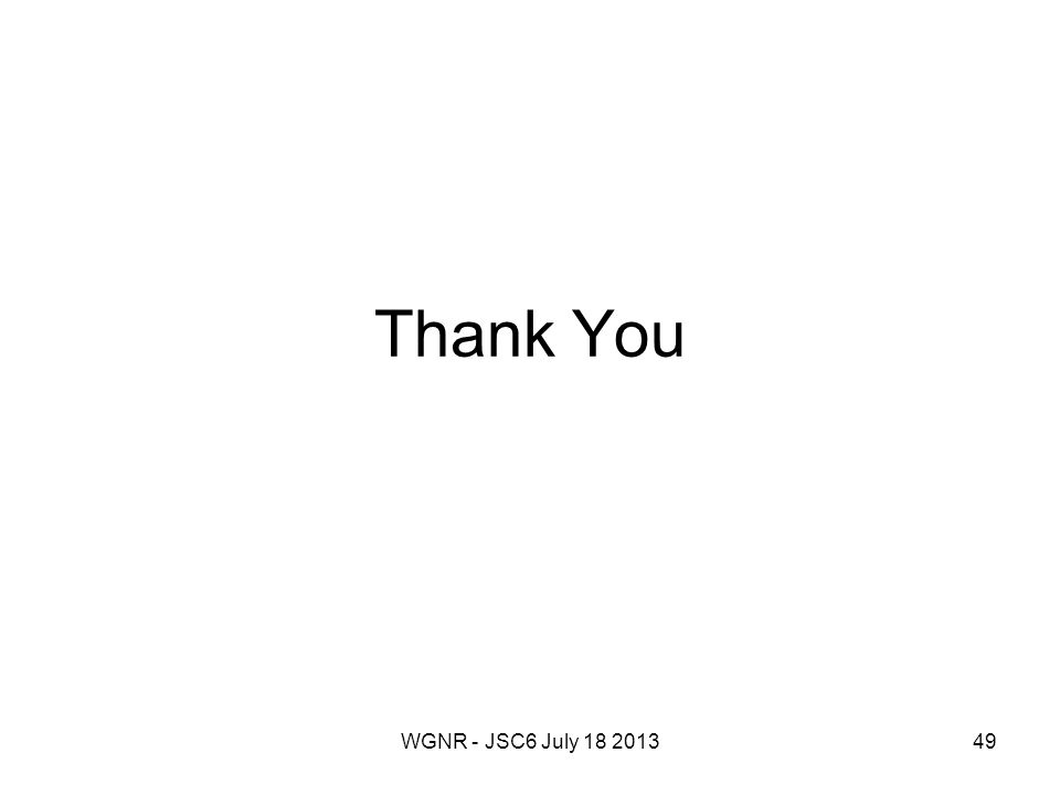 WGNR - JSC6 July 18 201349 Thank You