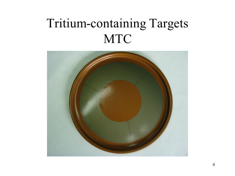 6 Tritium-containing Targets МТС